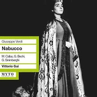 Verdi / Bechi / Sinimberghi / Neroni / Gui - Nabucco Dramma Lirico i Quattro Parti [CD] USA import