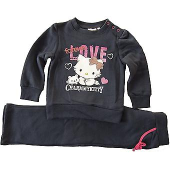 Charmmy - Hello Kitty Jogging Set Tracksuit Girls Trouser and Sweatshirt 2-piece Set hello
