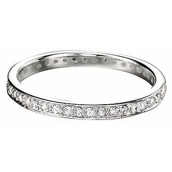 925 cyrkonia srebrny pierścień