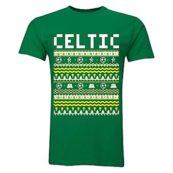Celtic Christmas T-Shirt (grün)