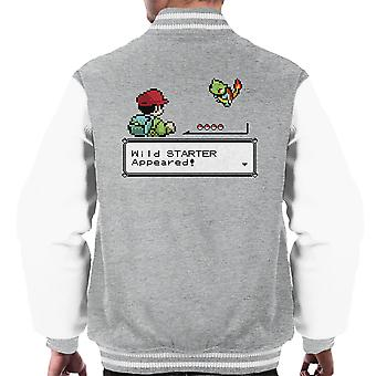 Vill forrett Pokemon menn Varsity jakke