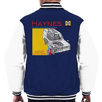Haynes ejere Workshop Manual 0607 Bedford HA Van mænds Varsity jakke