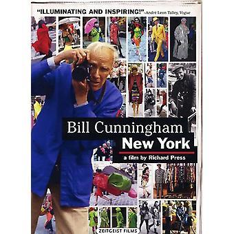 Bill Cunningham New York [DVD] USA importerer