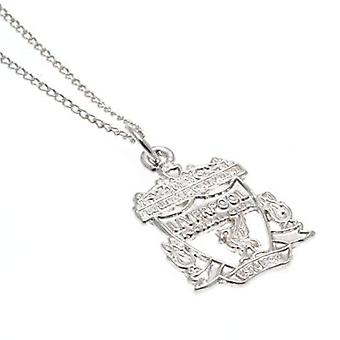 Liverpool Sterling Silver Pendant & Chain CR