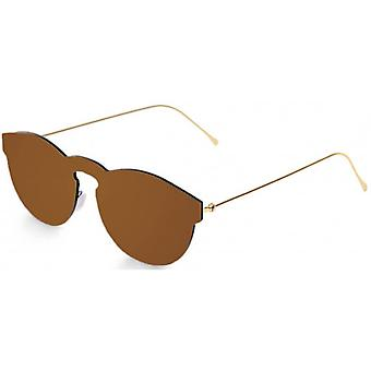 Ocean Berlin Flat Lense Sunglasses - Brown
