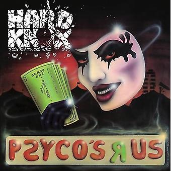 Hårde Knox - Psyco's R Us [CD] USA importerer