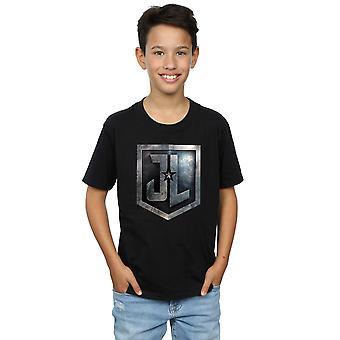 DC Comics pojkar Justice League film Shield T-Shirt