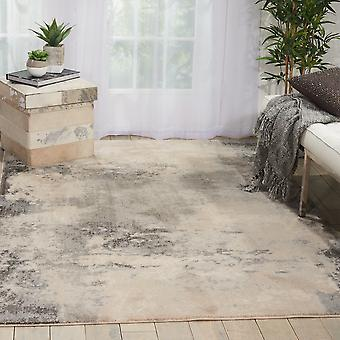 Maxell Rugs Mae13 By Nourison In Ivory And Grey