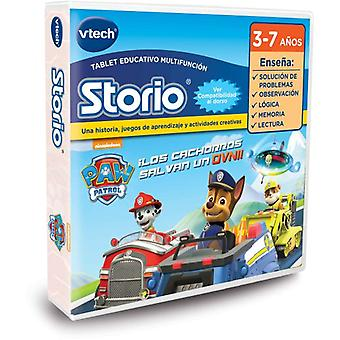 Vtech Canine Patrol Valid Storio 2, 3S And Max (Spanish version)