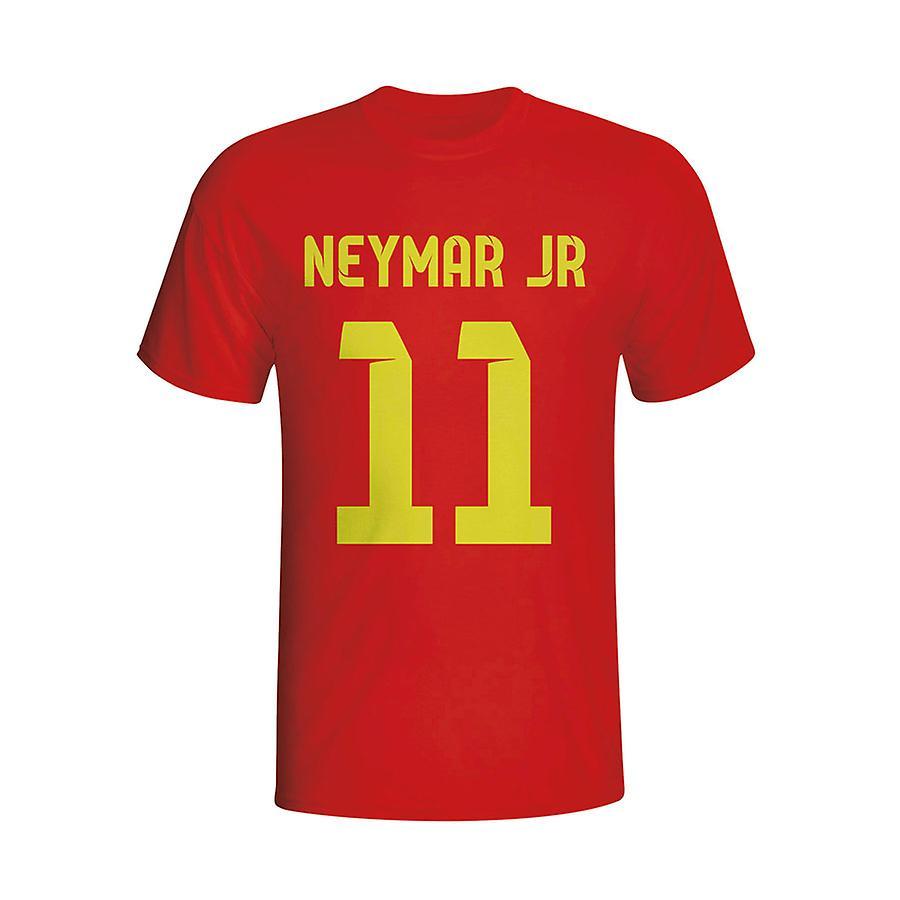 Neymar Barcelona Hero T-shirt (red) - Kids