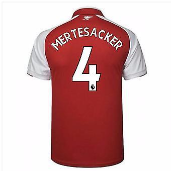 2017-18 Arsenal Home Shirt (Mertesacker 4)