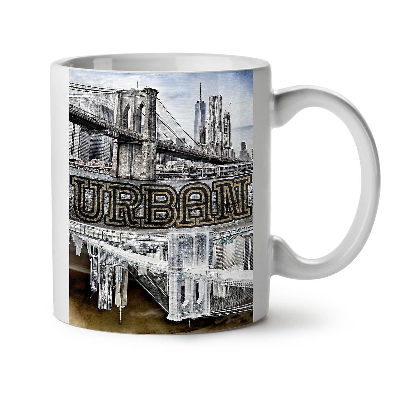 Ny New Ceramic Urban Metropolis OzWellcoda Coffee White Tea Mug 11 QCdxeoWrB
