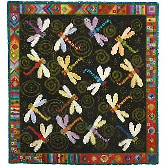 Dragonfly Dance Needlepoint Kit