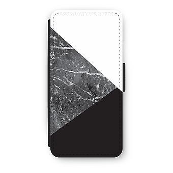 iPhone 5/5 s/SE フリップ ケース - 大理石の組み合わせ