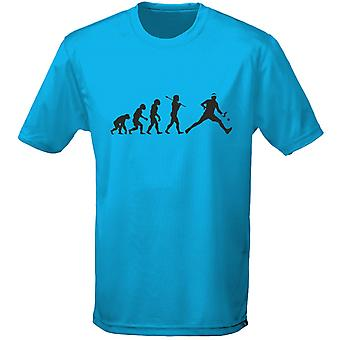 Tennis evolutie Mens T-Shirt 10 kleuren (S-3XL) door swagwear
