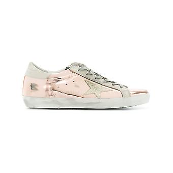 Golden Goose women's G32WS590G61 pink leather of sneakers