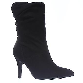 SC35 Adelay Mid-Calf Dress Boots, Black