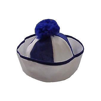 Hats  Sailor hat blue white