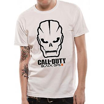 Call Of Duty Black Ops 3 - Skull With Logo T-Shirt (Unisex)