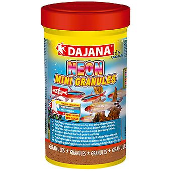 Dajana Neon Mini-Granulos 100ml (Fish , Food , Warm Water)