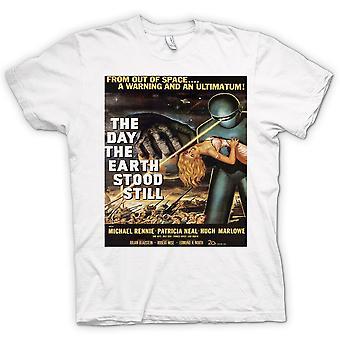 Mens T-shirt-der Day The Earth Still – B-Movie Stood