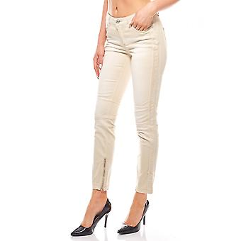 In the biker look slim fit stretch beige B.C.. best connections