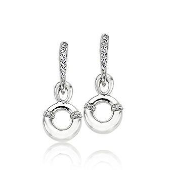Orphelia argento 925 orecchino cerchio pendente zirconio ZO-5955