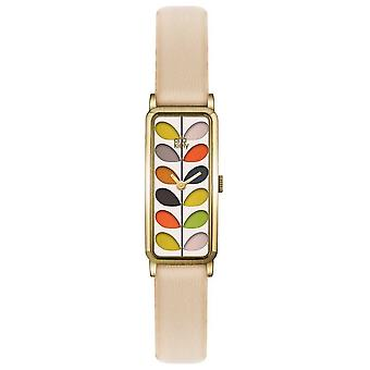 Orla Kiely Womens Stamm Bronze Fall nackt Strap OK2162 Watch