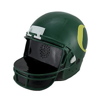 Oregon Ducks fútbol casco paisaje recuerdos Bluetooth altavoz