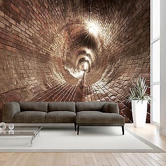 Behang - ondergrondse gang