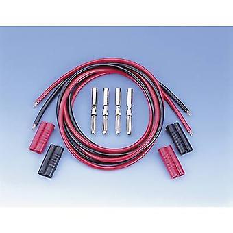 VOLTCRAFT MS 4041/2*1 Test lead kit [Banana jack 4 mm - Banana jack 4 mm] 1 m Black, Red