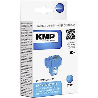 KMP Ink replaced HP 363 Compatible Cyan