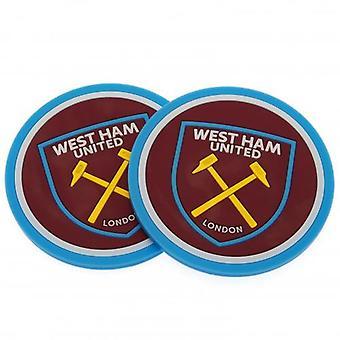 West Ham United 2pk Coaster Set