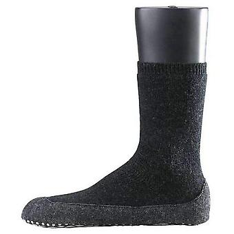 Falke Cosyshoe Midcalf Socks - Anthracite
