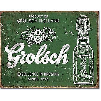 Grolsch bier-Excellence Metal Sign