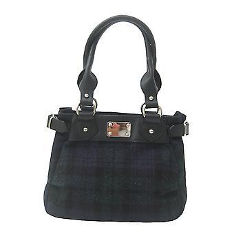 Harris Tweed Handbag Sophie (Harris Tweed Black Watch)