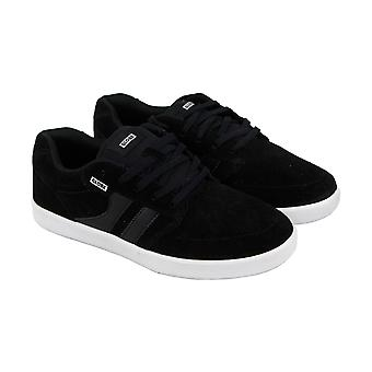 Globe Octave Mens Black Suede Sneakers Lace Up Skate Shoes
