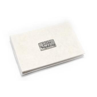 Silver Wedding Celebration Pocket Photo Album