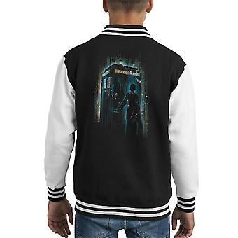Doctor Who 12th Doctor Multicolour Kid's Varsity Jacket