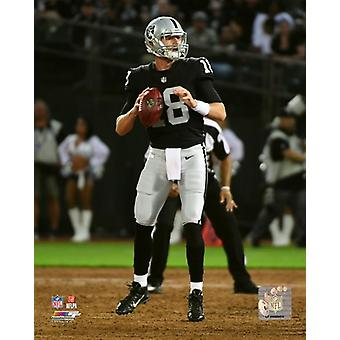 Connor Cook 2018 Action Photo Print