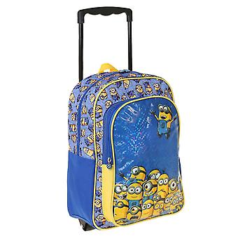 Minions travel bag Trolley Backpack 41 x 31 x 15 cm
