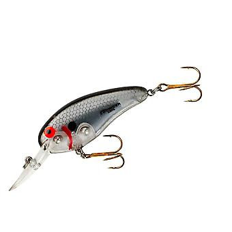 Bomber Deep Flat A 3/8 oz Fishing Lure - Silver Flash