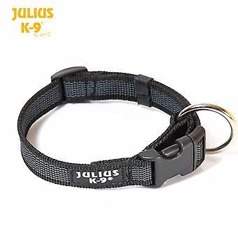 Julius-K9 Black Dog Collar - 20mm