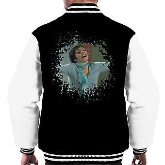 TV vezes Liza Minnelli angustiado jaqueta do efeito de borda homens