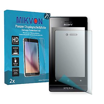 Sony Mesona Screen Protector - Mikvon Armor Screen Protector (Retail Package with accessories)