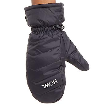 Howl Black 2018 Daily Snowboarding Mittens