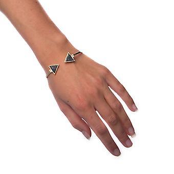 Armbånd sort marmor-små Traingle