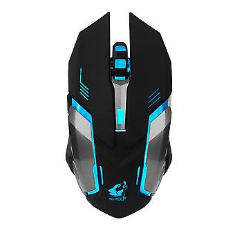 X 7 Wireless Gaming Mouse in Battletech Design with LED lighting