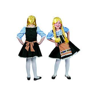 Kinder kostuums Beierse kind jurk