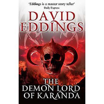 Demon Lord of Karanda by David Eddings - 9780552168595 Book